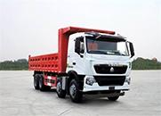 中国重汽 HOWO-T7H重卡 400马力 8×4 自卸车(ZZ3317V466HD1)