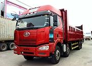 解放 J6P重卡 350马力 8×4 自卸车(CA3310P66K2L7T4E4)