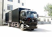 汉马H6 重卡 270马力 4×2 厢式 排半 载货车(HN5180XXYH27F1M5)