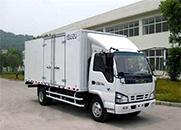 五十铃600P 130马力 厢式 单排 载货车(QL5042XXYA5HA)