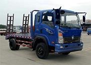 重汽王牌 7系 129马力 4×2 平板运输车(CDW5040TPBHA3Q4)