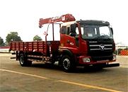 瑞沃 168马力 4×2 随车起重运输车(BJ5165JSQ-2)