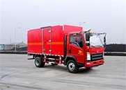 HOWO悍将 141马力 4×2 易燃气体厢式运输车(ZZ5047XRQF341CE145)
