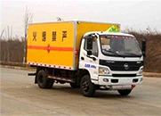 襄樊新中昌 中昌 143马力 4×2 爆破器材运输车(XZC5069XQY4)