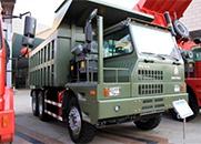 HOVA 336马力 6×4 矿用自卸车底盘(ZZ5607VDNB36400)