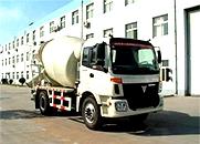 欧曼ETX 140马力 4×2 混凝土搅拌运输车(BJ5163GJB-FA)