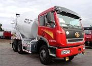 解放J6 336马力 6×4 混凝土搅拌运输车(CA5250GJBP2K15T1E4A80)