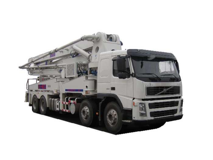 三一混凝土泵车 sy5392thb