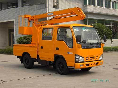 杭州爱知 98马力 4×2 高空作业车(HYL5040JGK)