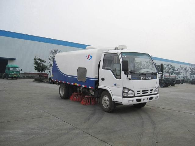 玉柴大力 121马力 4×2 扫路车(DLQ5070TSLE3)