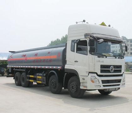 厦工楚胜 290马力 8×4 化工液体运输车(CSC5310GHYD)