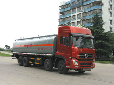 湖北程力 程力威 340马力 8×4 化工液体运输车(CLW5310GHY3)