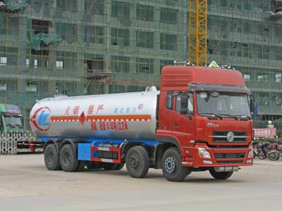湖北程力 程力威 260马力 8×4 液化气体运输车(CLW5312GYQ)