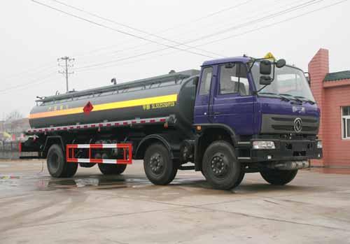 随州力神 醒狮 220马力 6×2 化工液体运输车(SLS5252GHYEB)