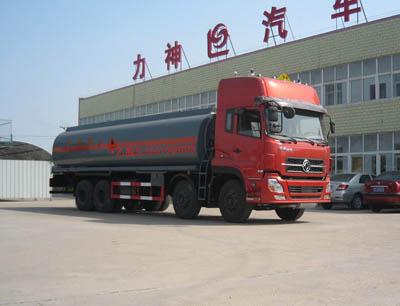 随州力神 醒狮 290马力 8×4 化工液体运输车(SLS5310GHYD3)