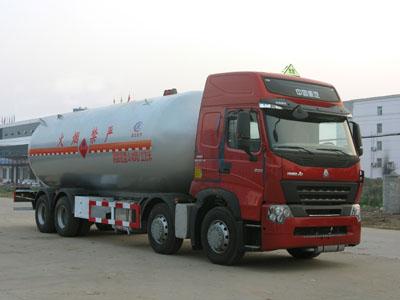 湖北程力 程力威 300马力 8×4 液化气体运输车(CLW5311GYQZ)