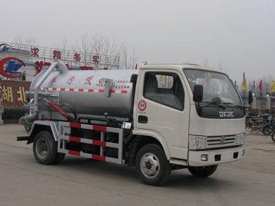 湖北程力 程力威 90马力 4×2 吸污车(CLW5050GXW3)