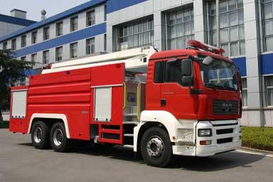 中联重科 中联 430马力 6×4 举高喷射消防车(ZLJ5300JXFJP16)