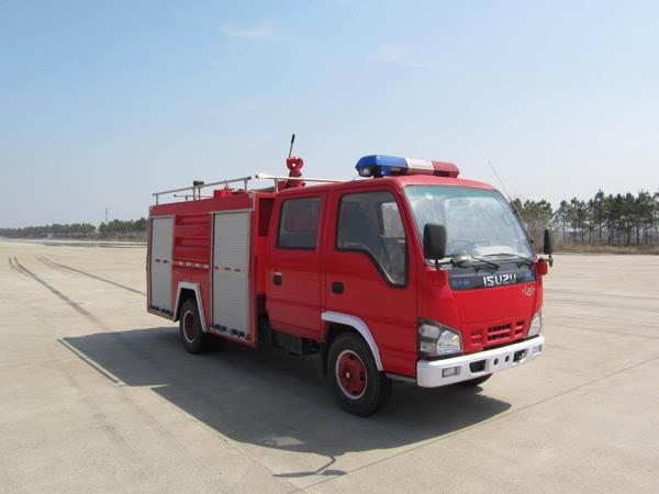 湖北江南 江特 121马力 4×2 水罐消防车(JDF5070GXFSG20QL)