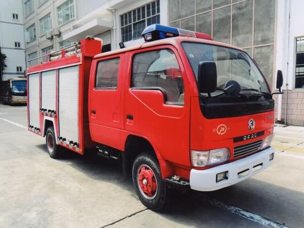 湖北江南 江特 95马力 4×2 水罐消防车(JDF5050GXFSG10/X)