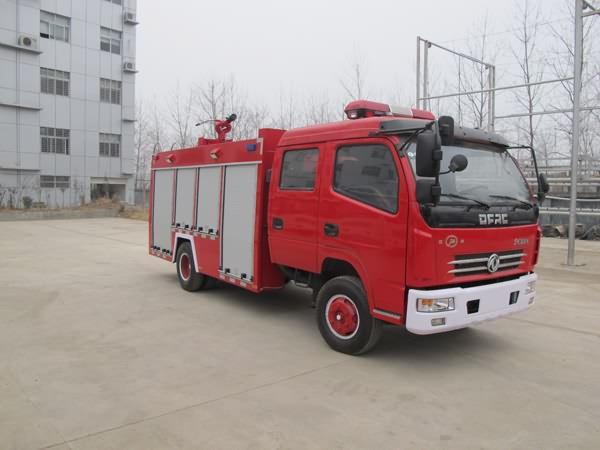 湖北江南 江特 140马力 4×2 水罐消防车(JDF5070GXFSG20/D)