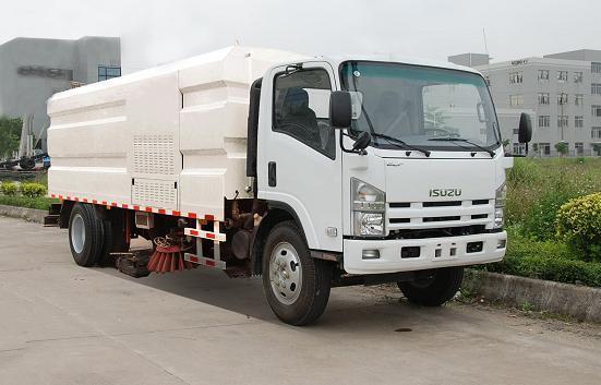 湖南金华 汽尔福 176马力 4×2 洗扫车(HJH5100TXSQL3)
