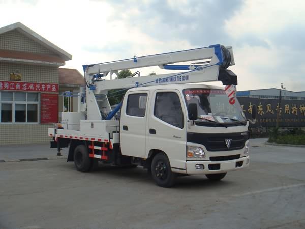 湖北江南 江特 129马力 4×2 高空作业车(JDF5052JGKB)