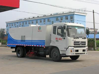 湖北程力 程力威 210马力 4×2 扫路车(CLW5160TSLD3)