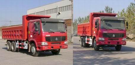 豪泺 ZZ3257M3247C 自卸汽车