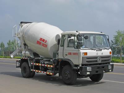 湖北程力 程力威 190马力 4×2 混凝土搅拌运输车(CLW5120GJB3)