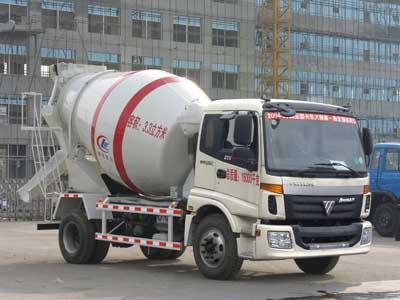 湖北程力 程力威 190马力 4×2 混凝土搅拌运输车(CLW5160GJBB3)