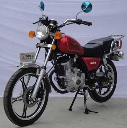 三铃两轮摩托车 sl125-5t