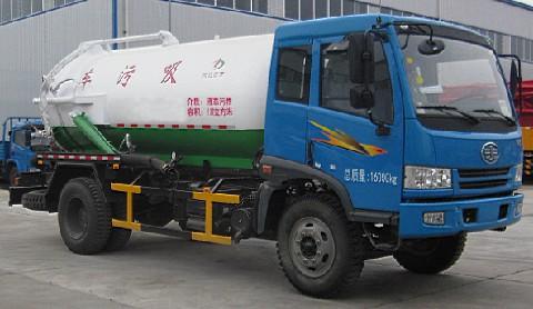 玉柴大力 140马力 4×2 吸污车(DLQ5160GXW4)