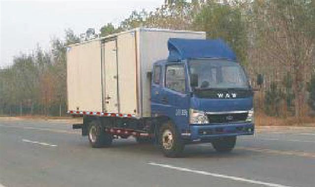 奥驰 79马力 排半厢式轻卡(FD5041XXYP12K)
