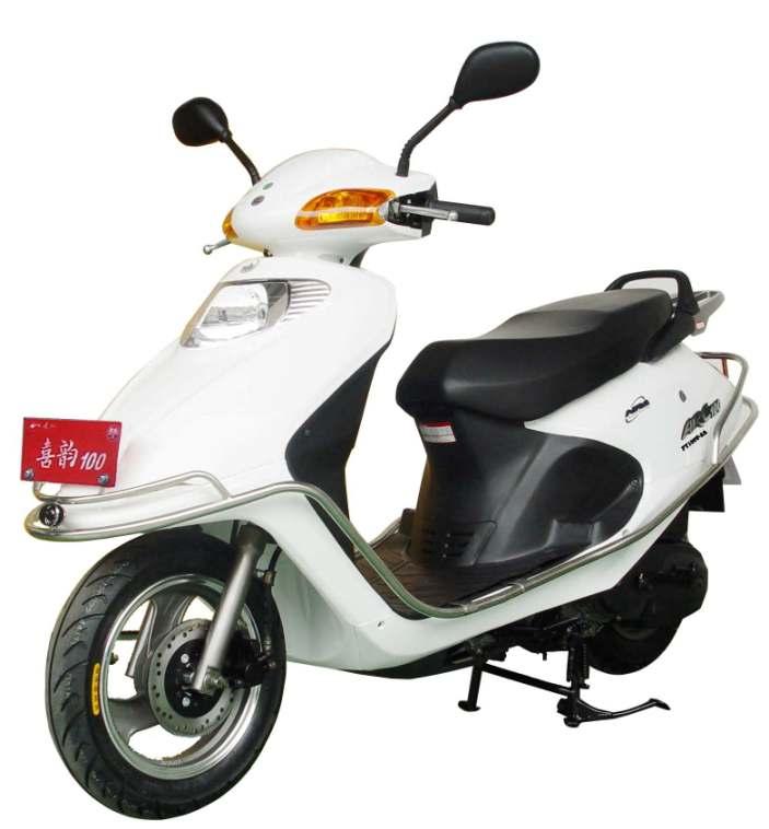飞鹰两轮摩托车 fy100t-2a