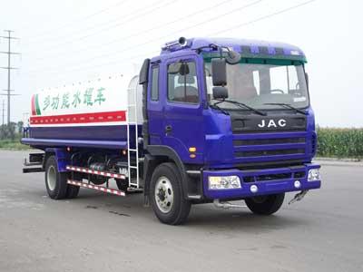 江淮汽车 格尔发 180马力 4×2 洒水车 HFC5166GSSK1R1ZT