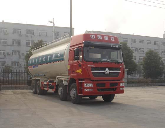 重汽华威 驰乐 375马力 8×4 低密度粉粒物料运输车(SGZ5311GFLZZ4K)