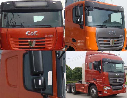联合卡车 集瑞联合重卡 375马力 6×4 牵引车(SQR4251N6ZT4)