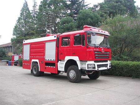 陕西银河 270马力 4×4 泡沫消防车(BX5190GXFPM70S)