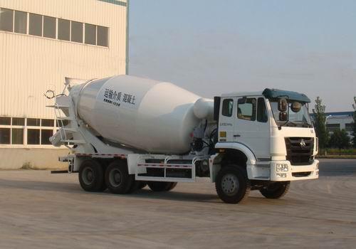 豪瀚 ZZ5255GJBN4346C1 混凝土搅拌运输车
