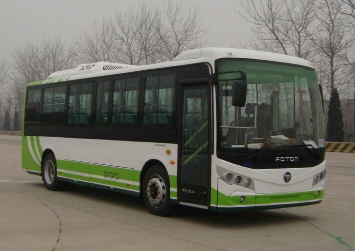 福田纯电动客车 bj6860evca-1