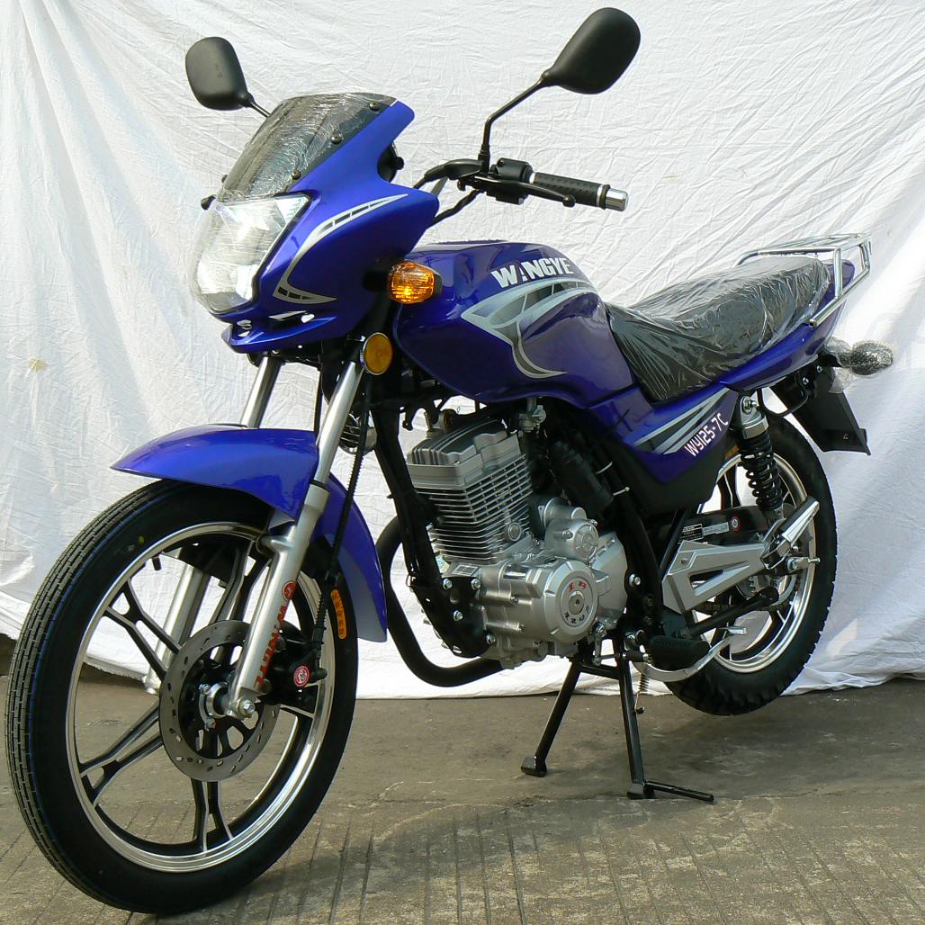 王野两轮摩托车 wy125-7c