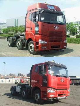 解放 J6P重卡 350马力 6×2 牵引车(CA4250P66K2T3E4)