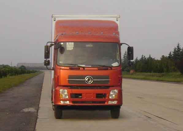 东风 天锦中卡 185马力 4×2 排半厢式载货车(DFL5120XXYB13)