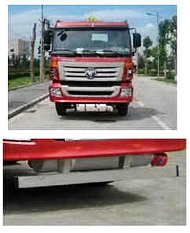 福田汽车 欧曼ETX 315马力 8×4 运油车(HFV5312GYYBJ4)