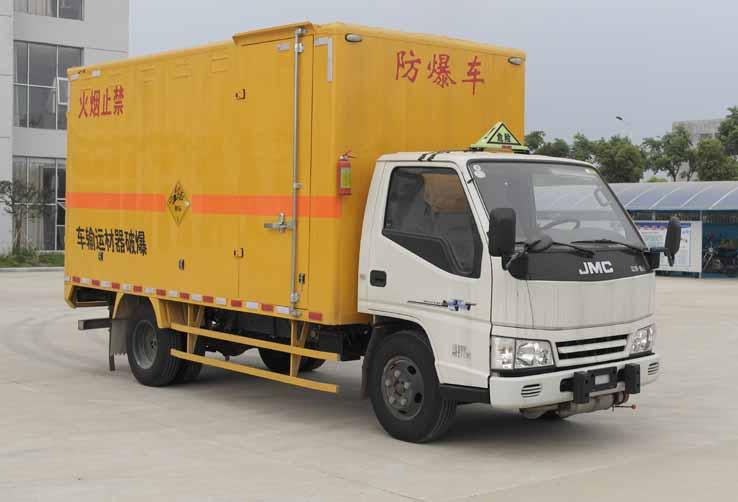 湖北程力 程力威 108马力 4×2 爆破器材运输车(JMT5040XQYXG2)