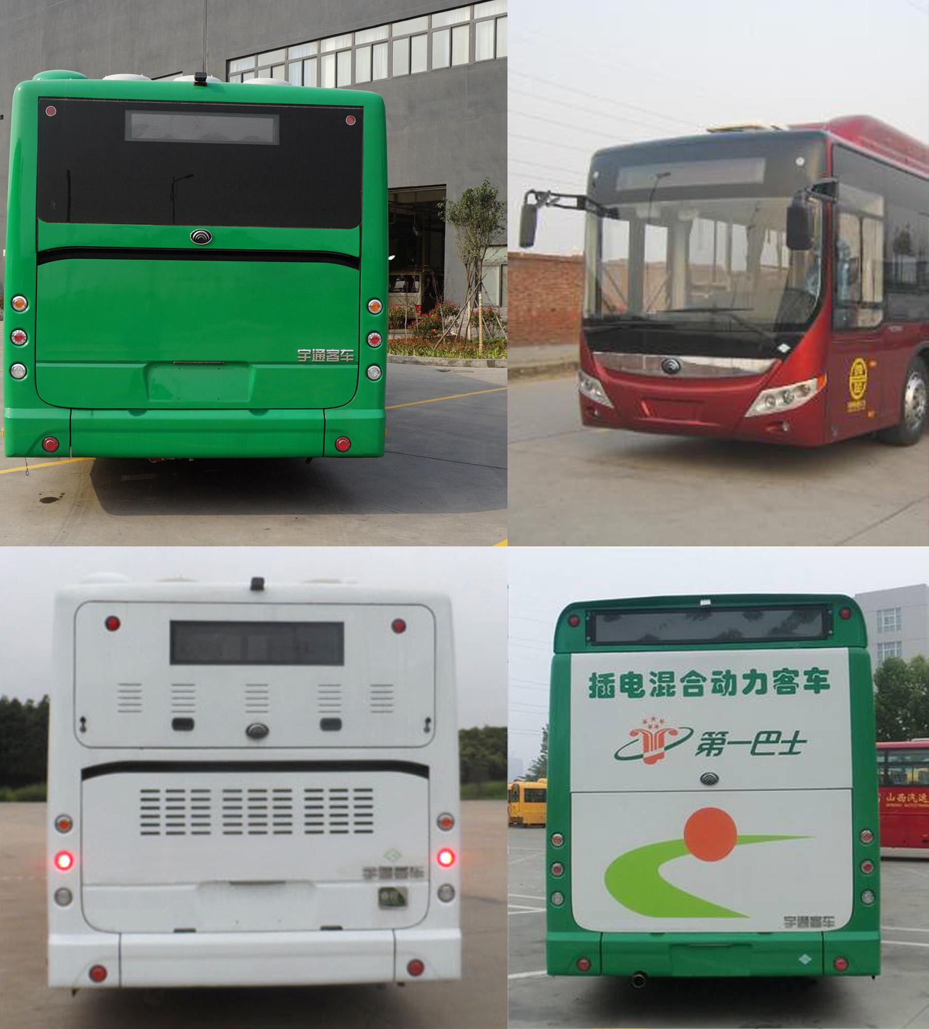 宇通小客车底盘结构图