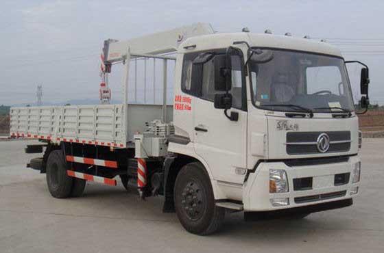 东风商用车 天锦 180马力 4×2 随车起重运输车(DFL5160JSQBX5A)