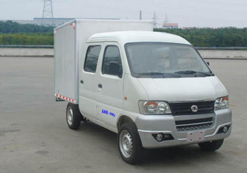 东风 俊风 61马力 汽油 双排厢式微卡(DFA5021XXYH12QA)