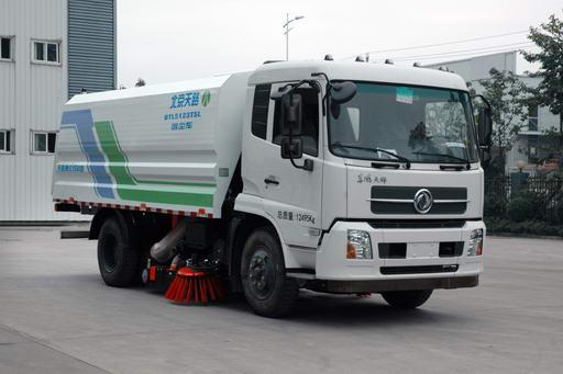 北京天路 180马力 4×2 吸尘车(BTL5123TSL)